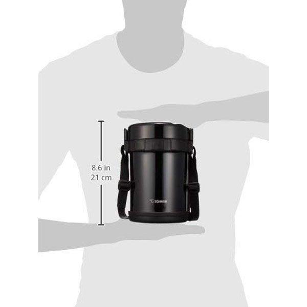 Термоконтейнер ZOJIRUSHI SL-GH18-BA Size