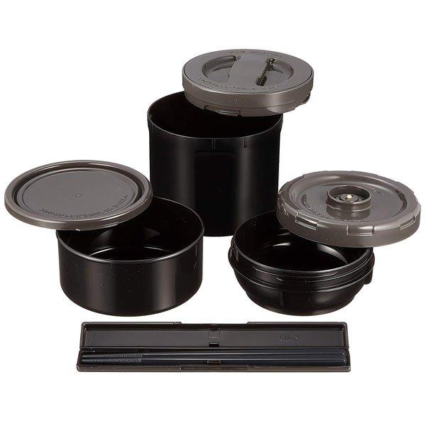 Термоконтейнер Zojirushi SL-XE20-AD 2,0 Л (черный) внутренние