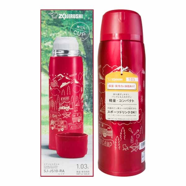 Термос Zojirushi SJ-JS10-RA 1,0 л (красный)