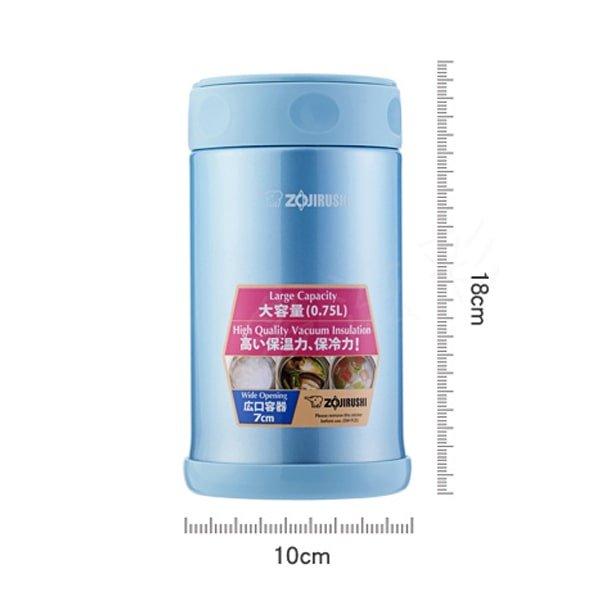 Zojirushi SW-FCE75-AB size-min