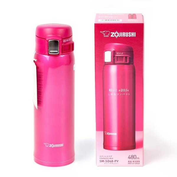 Термокружка Zojirushi SM-SD48-PV 0,48 л упаковка